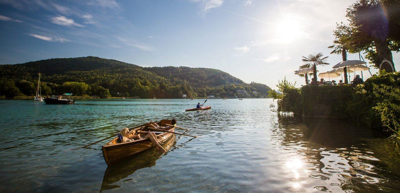 Bootfahren - Sommerurlaub am Wörthersee, Kärnten