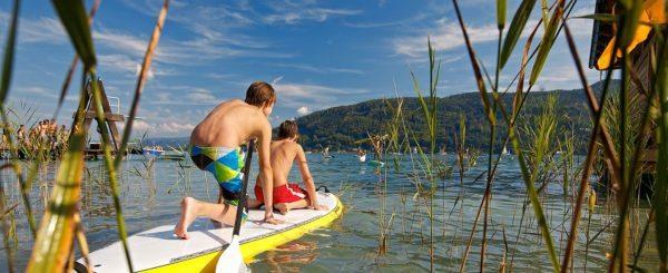 Wassersport am Wörthersee in Kärnten