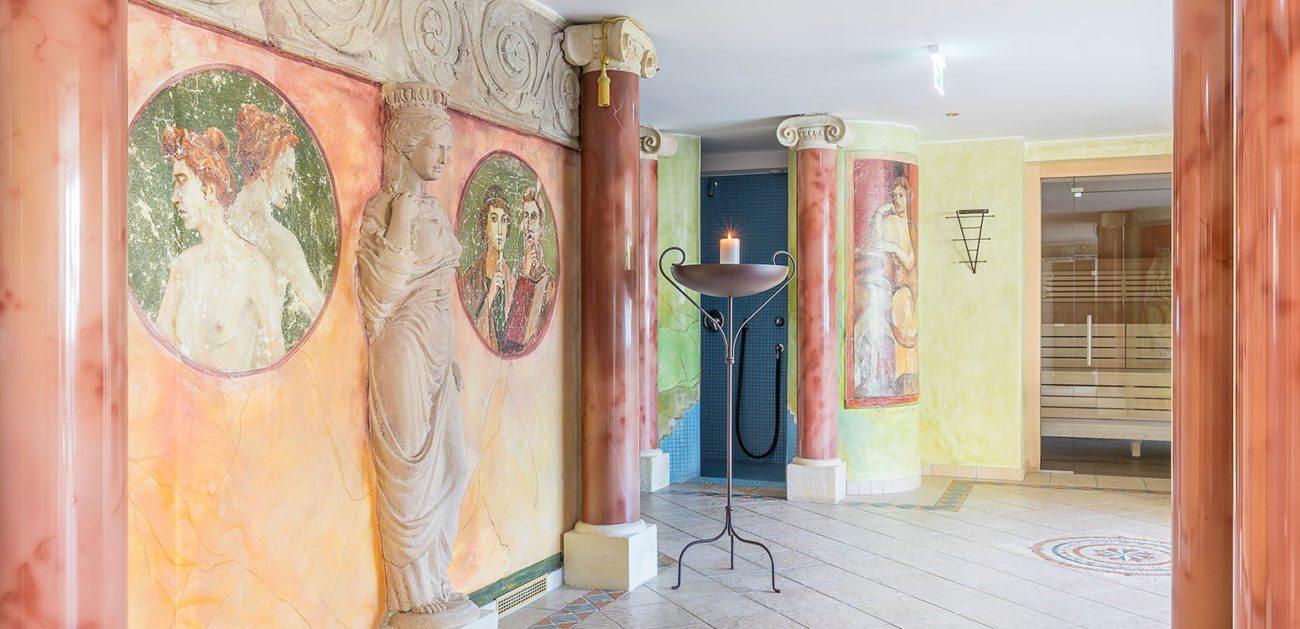 Wellnessbereich mit Sauna, Dampfbädern uvm. - Vitalhotel Marienhof